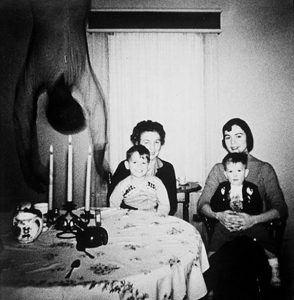 """The Copper family """"ghost"""" photo."""